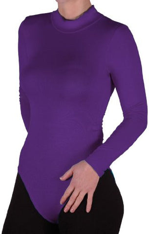 Turtle Neck Long Sleeve Leotard