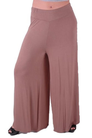 Carly Flared Jersey Trousers