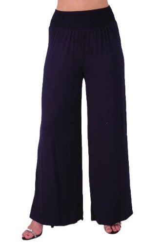 1Carmen High Waisted Palazzo Trousers