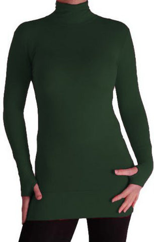 Cher Lightweight Polo Neck Tops