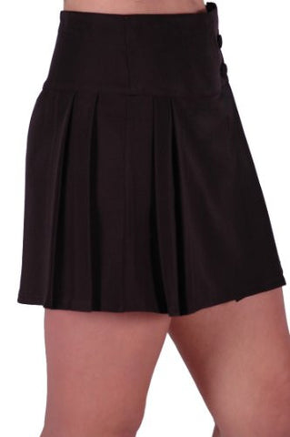Julia Pleated Mini Skirt