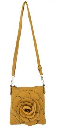 Lucia Faux Leather Cross Body Bag
