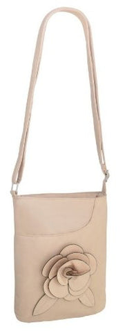 Rosa Faux Leather Cross Body Bag