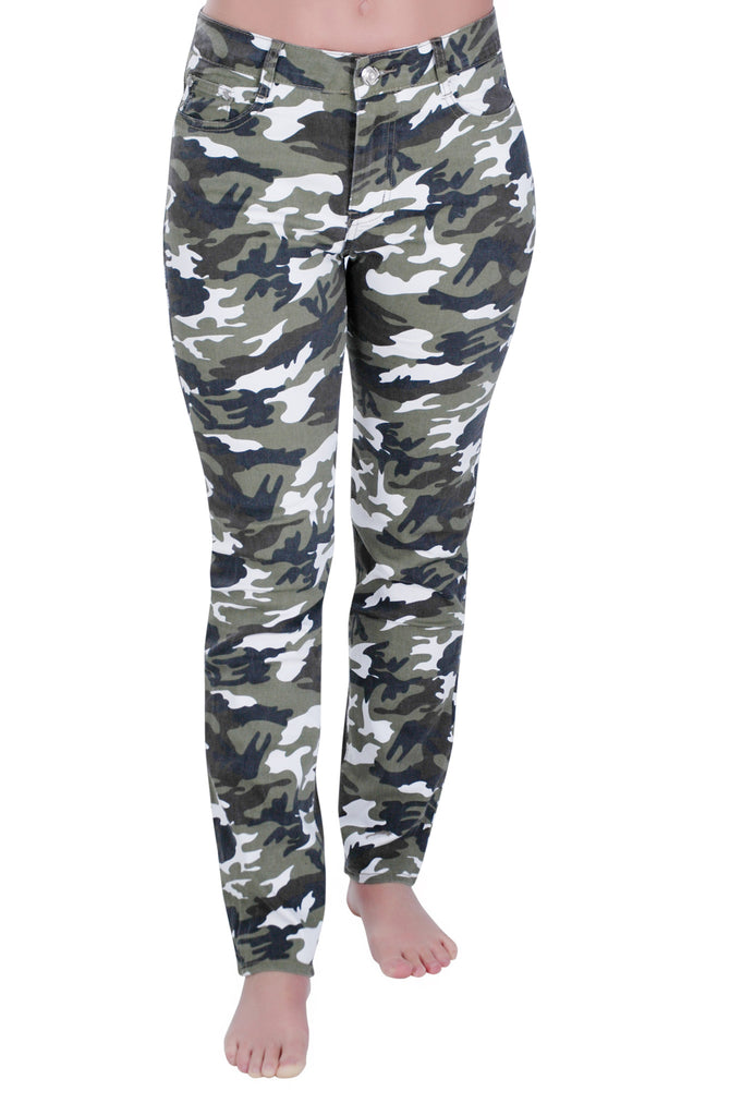 1Camouflage Plus Size Trousers