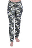 Camouflage Plus Size Trousers