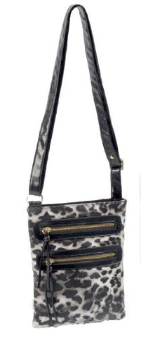 Aria Cross Body Leopard Print Bag