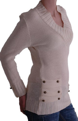 Nebraska V Neck Knitted Jumper