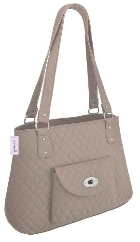 1Beverley Faux Leather Quilted HandBag