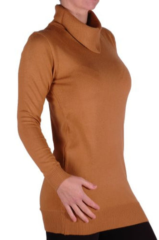 Knitted Caul Neck Jumper