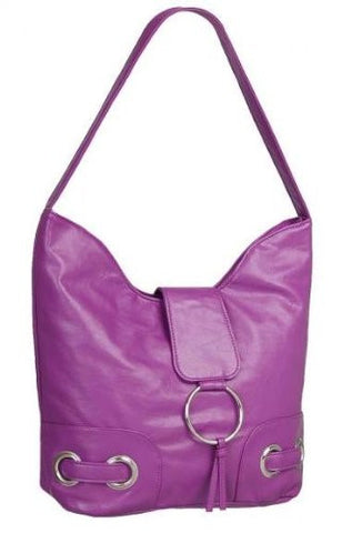 Provence Faux Leather Shoulder Bag