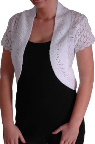 Alexia Crochet Knitted Shrugs