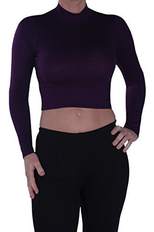 Turtle Neck Long Sleeve Tops