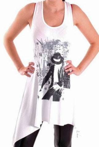 Michael Jackson The Legacy Lives on Sleeveless Tops