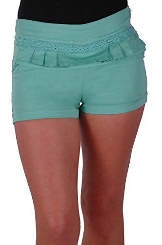 1Slim Fitted Cotton Shorts