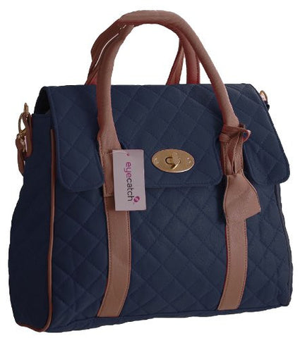 Kimberely Quilted Satchel Bag