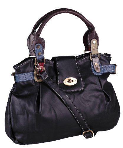 1Helena Faux Leather Shoulder Bag