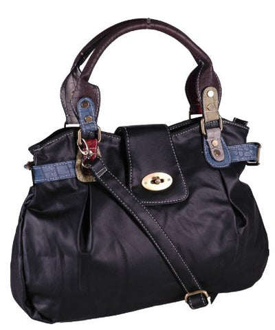 Helena Faux Leather Shoulder Bag