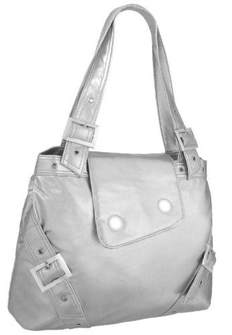 Crystal Faux Leather Grab Bag