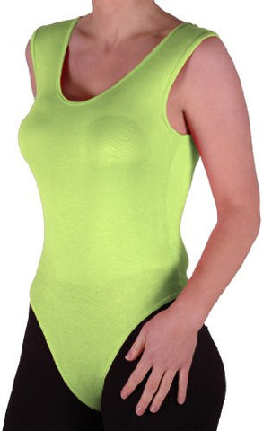 Scoop Neck Sleeveless Leotard