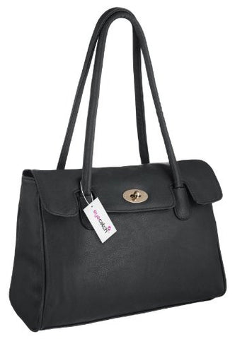 Berlin Faux Leather Shoulder Bag