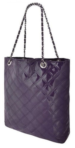 Tabitha Quilted Faux Leather Shoulder Bag