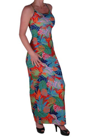 Multicoloured Maxi Dress