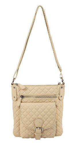 1Lambrini Quilted Cross Body Bag
