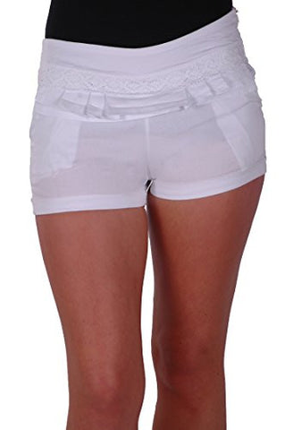 Slim Fitted Cotton Shorts