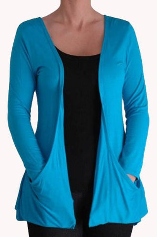 Ocean FishTail Waterfall Cardigan