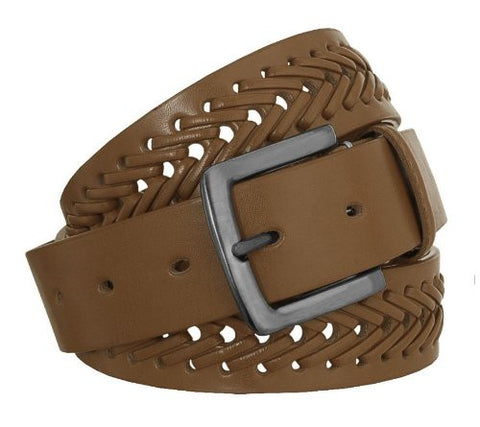 Forest Leather Belt