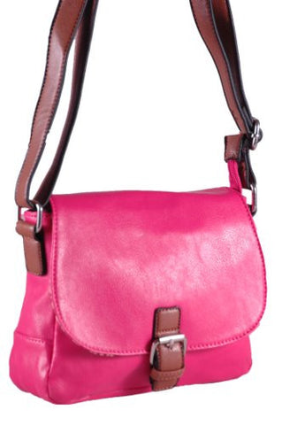 Tara Faux Leather Cross Body Bag