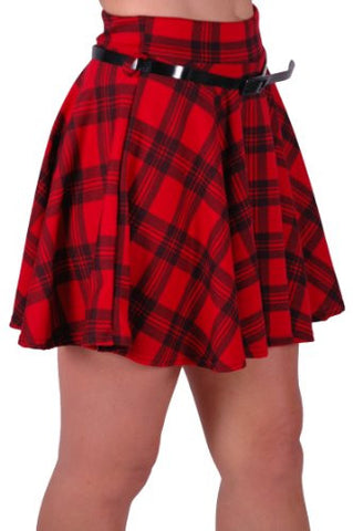 Scotia Tartan Mini Skirt