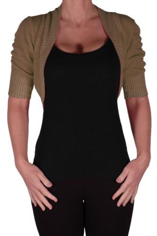 Kara Short Sleeve Knitted Shrugs