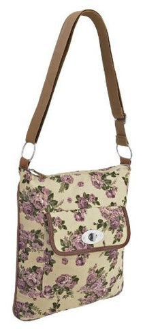 Bridget Floral Canvas Shoulder Bag