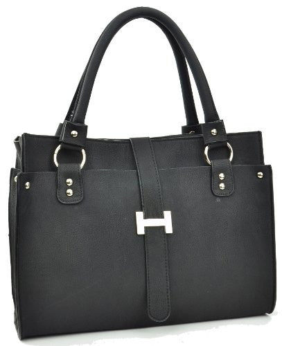 1Sirius Faux Leather Messenger Satchel Bag
