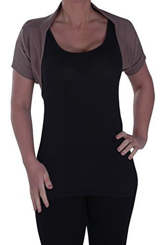 Keely Cover Up Open Front Shrug