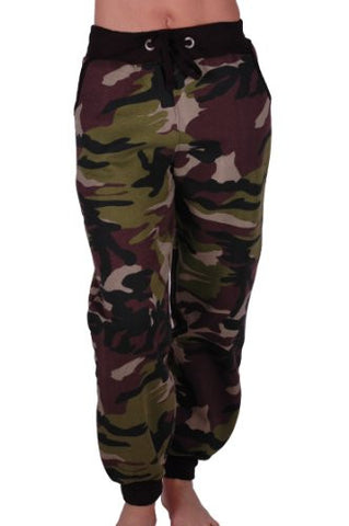 Camouflage Tracksuit Bottoms