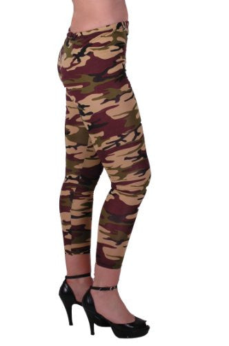 1Camouflage Cropped Leggings
