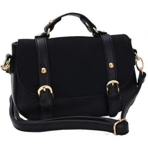Trinni Faux Leather Satchel Bag