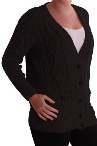Milla Button Knitted V Neck Cardigan