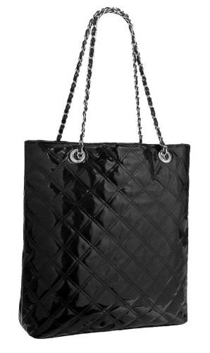 1Tabitha Quilted Faux Leather Shoulder Bag