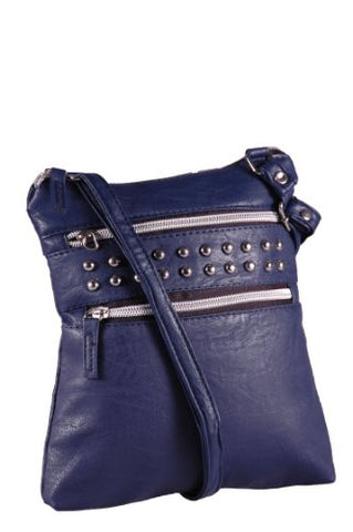Valentina Studded Cross Body Bag