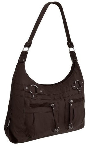Myra Faux Leather Handbag