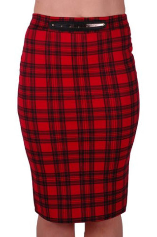 Aviemore Tartan Midi Pencil Skirt