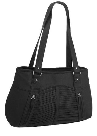 Acropolis Faux Leather Handbag