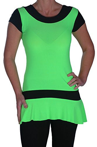 1Eve Neon Mini Dress