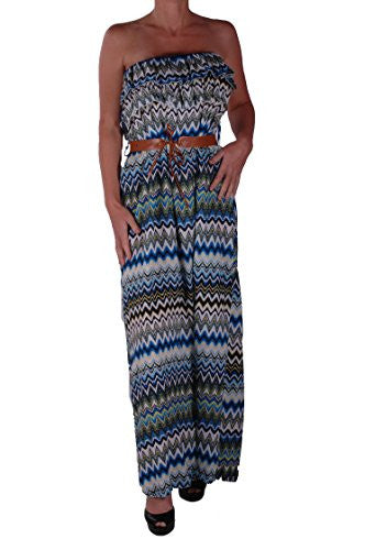 1Zig Zag Maxi Dress