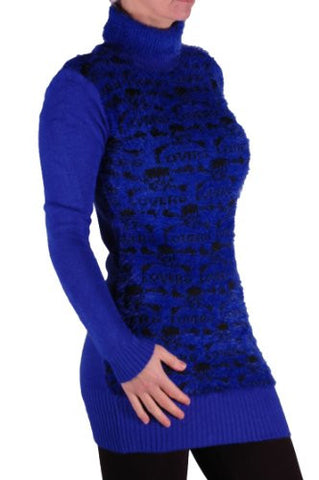 Knitted Polo Neck Jumper