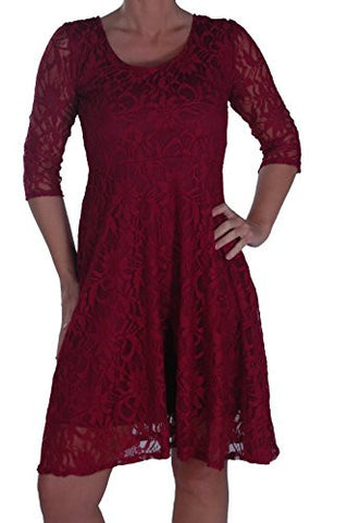 Isla Floral Plus Size Lace Dress