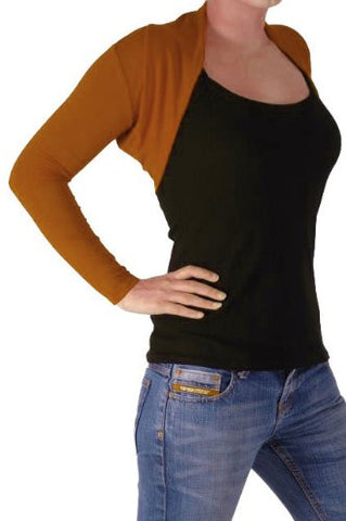 Delphi Jersey Knitted Shrugs